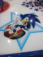 Sonic The Hedgehog Themed Arcade Games Items