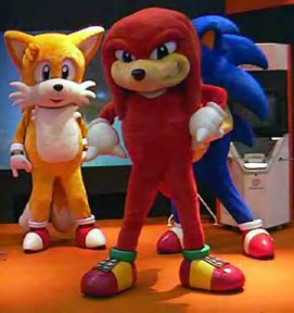Sonic Tails Knuckles Costume Characters : sonic costume for adults  - Germanpascual.Com