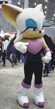 Rouge The Bat Costume Sonic the Hedgehog Cos...