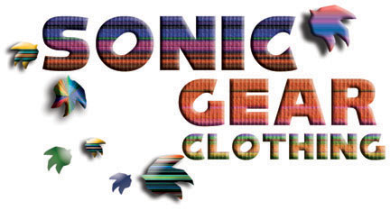 Sonic the Hedgehog Clothing Page 2 Header Graphic