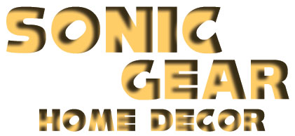 Sonic the Hedgehog Home Decor Title