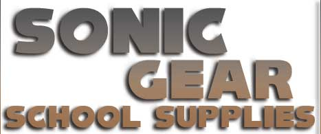 UK Sonic School Supplies Title