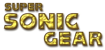 Super Sonic Gear Title