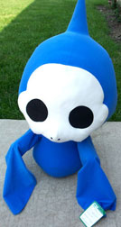 C & H Toys Ghost Chao Plush thing