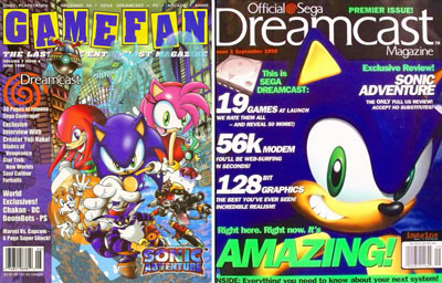 Sonic the Hedgehog Theme Magazine Scans & Covers 6