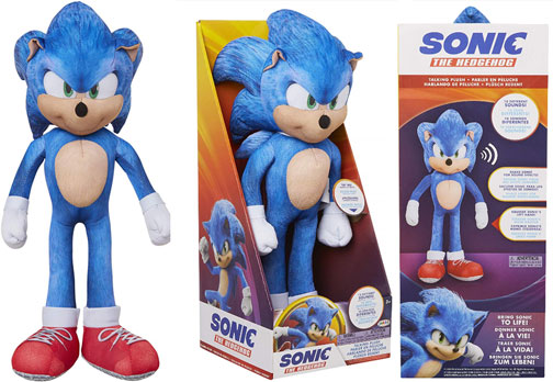 Movie Sonic Merchandise Page 1