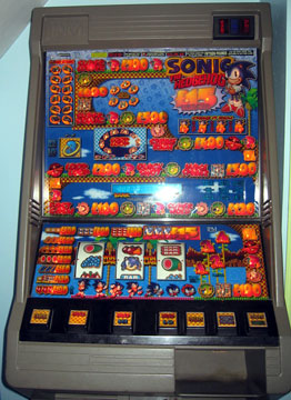 Sonic The Hedgehog Arcade Machines Page