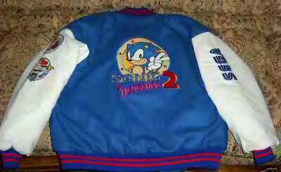 England Sonic The Hedgehog Classic Clothing