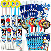 Sonic The Hedgehog Party Supplies 3 Modern