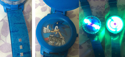 Sonic The Hedgehog Watches