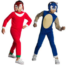 Sonic u0026 Knuckles Mask Costumes  sc 1 st  Sonic Gear & Sonic Halloween Costumes u0026 Dress Up