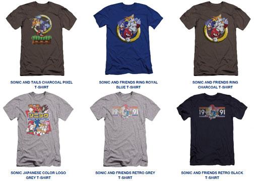 ea26634b 6 Tees Pixel Theme Sega Shop Selection