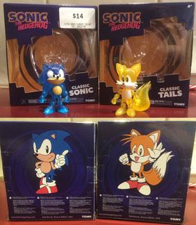 Classic Style Tomy Sonic Figures