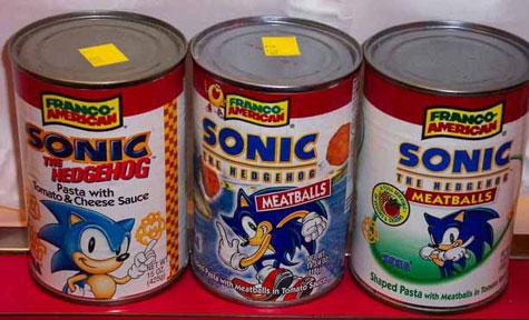 Usa Sonic The Hedgehog Foods