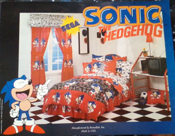 Sonic The Hedgehog Interior Home Design Items