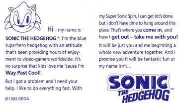 Usa Sonic The Hedgehog Plushes Dolls