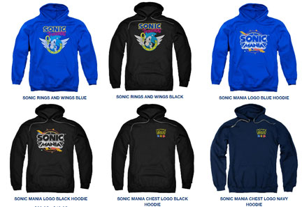fa4402ae Sonic & Mania 6 Sweat Shirt Selection Hoodies